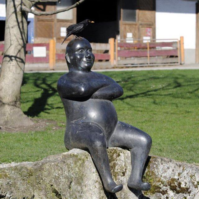 Der bayrische Buddha in Herrmannsdorf