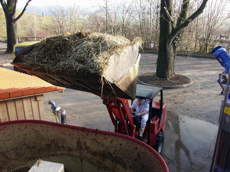 Herrmannsdorfer Landwirtschaft - Biogas