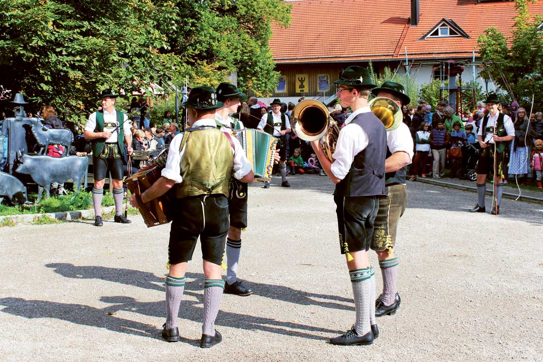 Erntedank in Herrmannsdorf