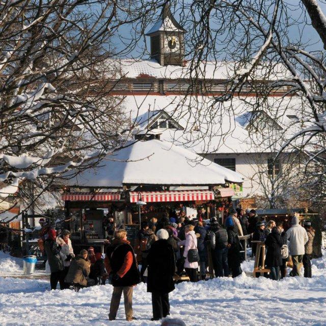 Weihnachtsmarkt in Herrmannsdorf