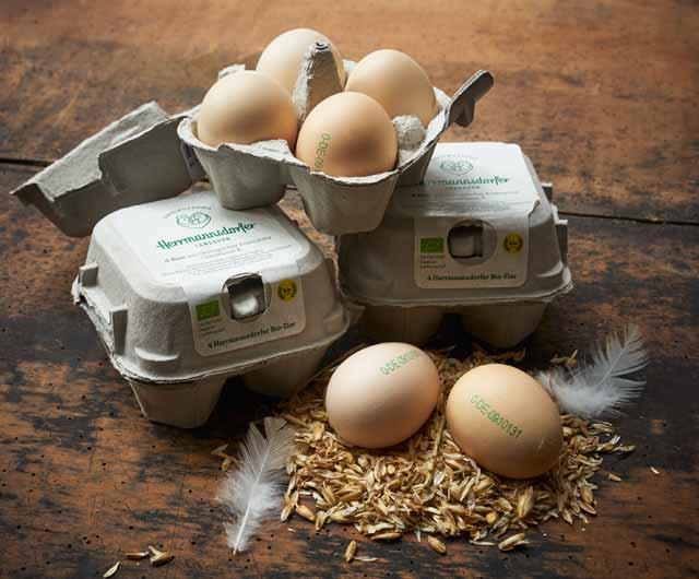 Herrmannsdorfer Landhuhn-Eier