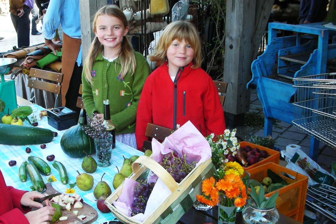 Der Herrmannsdorfer Wochenmarkt