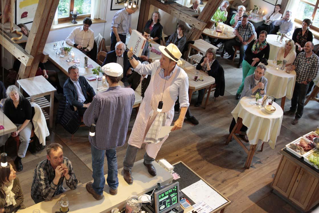 Küchenparty mit Georg Schweisfurth