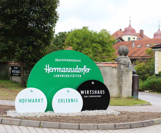 Herrmannsdorfer Leitsystem