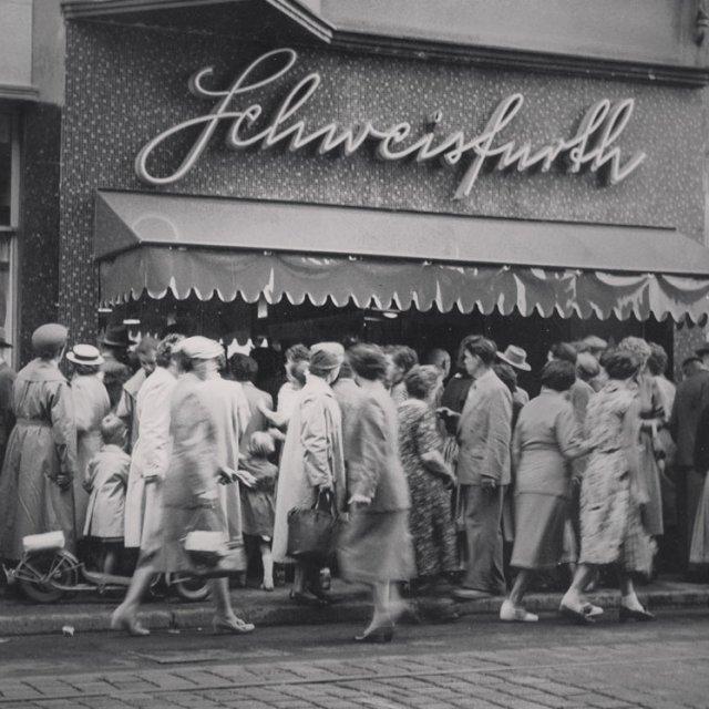 Alter Laden Schweisfurth in Herten