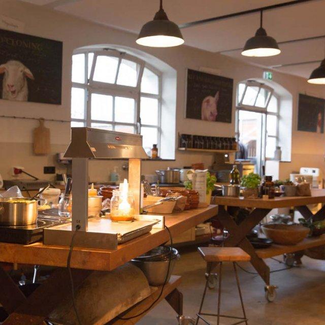 Herrmannsdorfer Kochabend in der Handwerkstatt