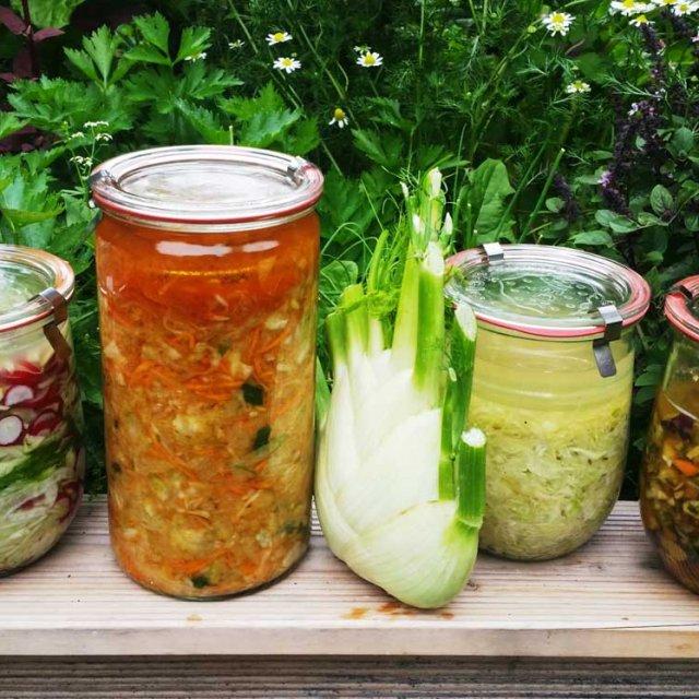Gemüse fermentieren, Herrmannsdorfer Handwerkstatt