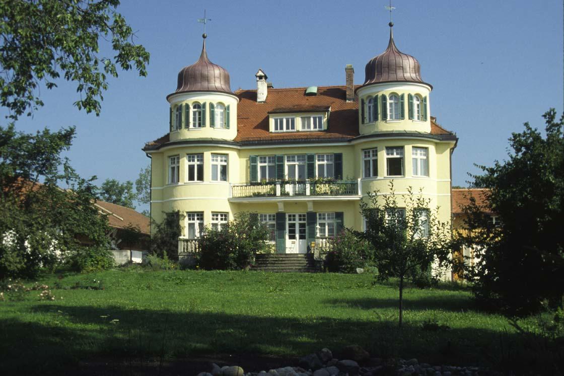 Haupthaus in Herrmannsdorf