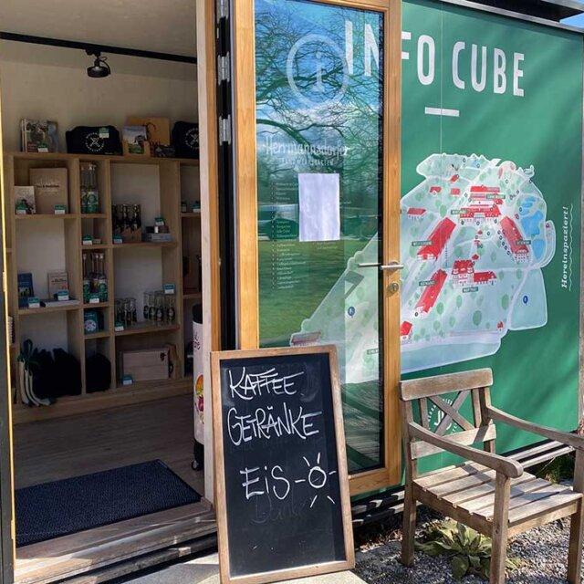 Herrmannsdorfer Info Cube